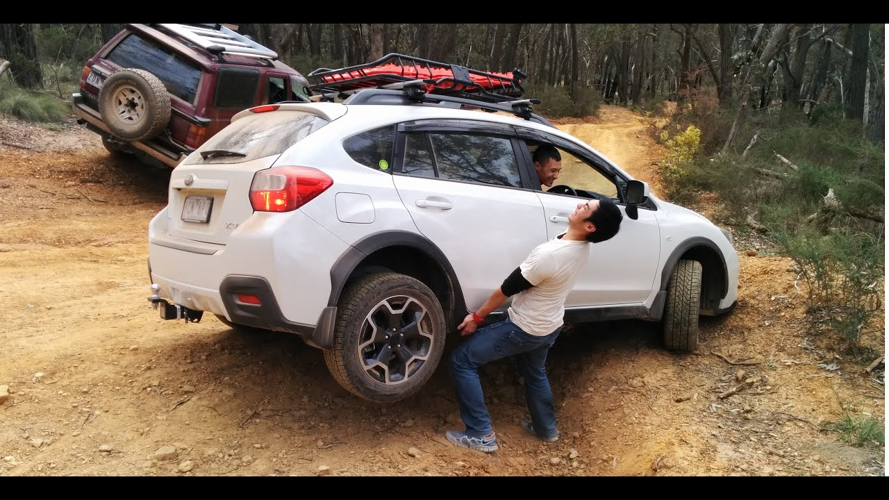 Subaru Crosstrek Sti Wheels >> Subaru XV 3 Wheels - YouTube