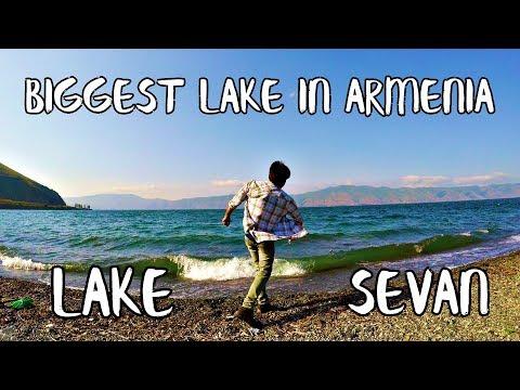 THE BIGGEST LAKE IN ARMENIA   LAKE SEVAN