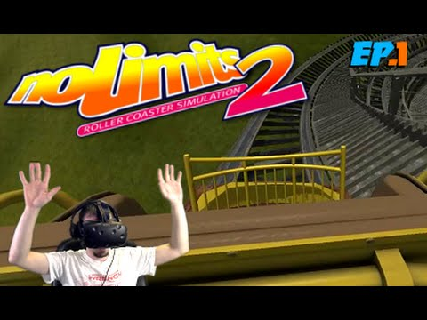 Rollercoaster Simulation, No Limits 2 | Motion Sickness Galore! HTC Vive