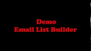 Email List Generator EZ Mailer