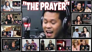 """THE PRAYER"" REACTORS REACTION COMPILATION/MARCELITO POMOY"