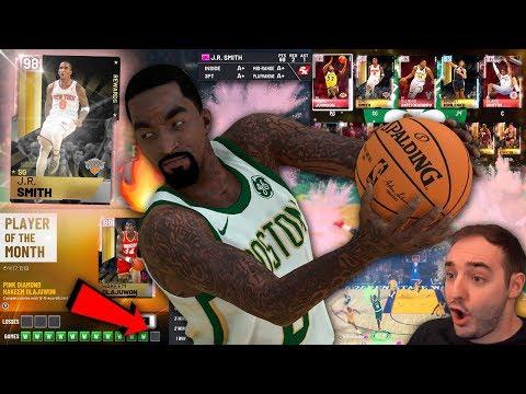 NBA 2K19 My Team CAN WE GO 12-0 & GET PINK DIAMOND HAKEEM OLAJUWON?!?
