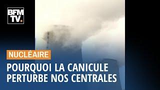 Pourquoi la canicule perturbe nos centrales nucléaires