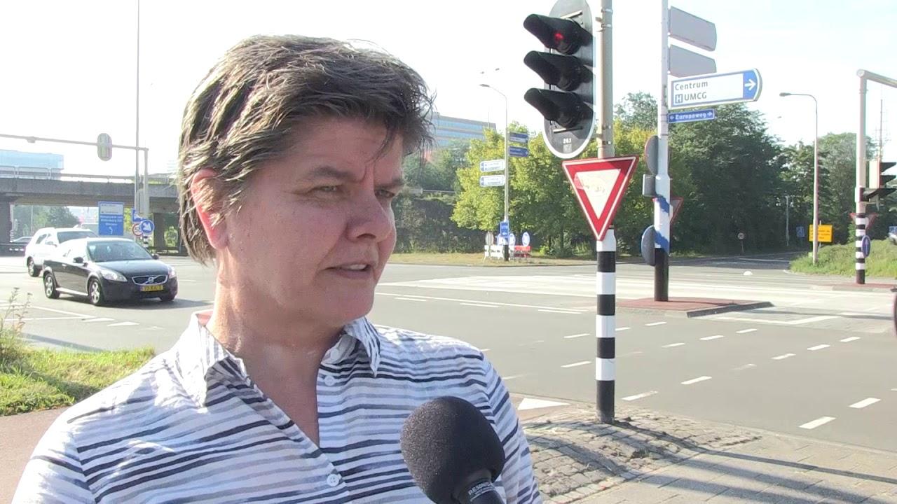 Proef met verkeersmaatregelen op Europaplein