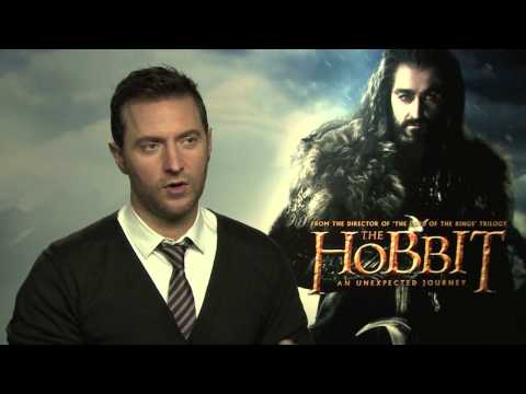 The Hobbit -- Thorin Oakenshield Actor Richard Armitage Interview