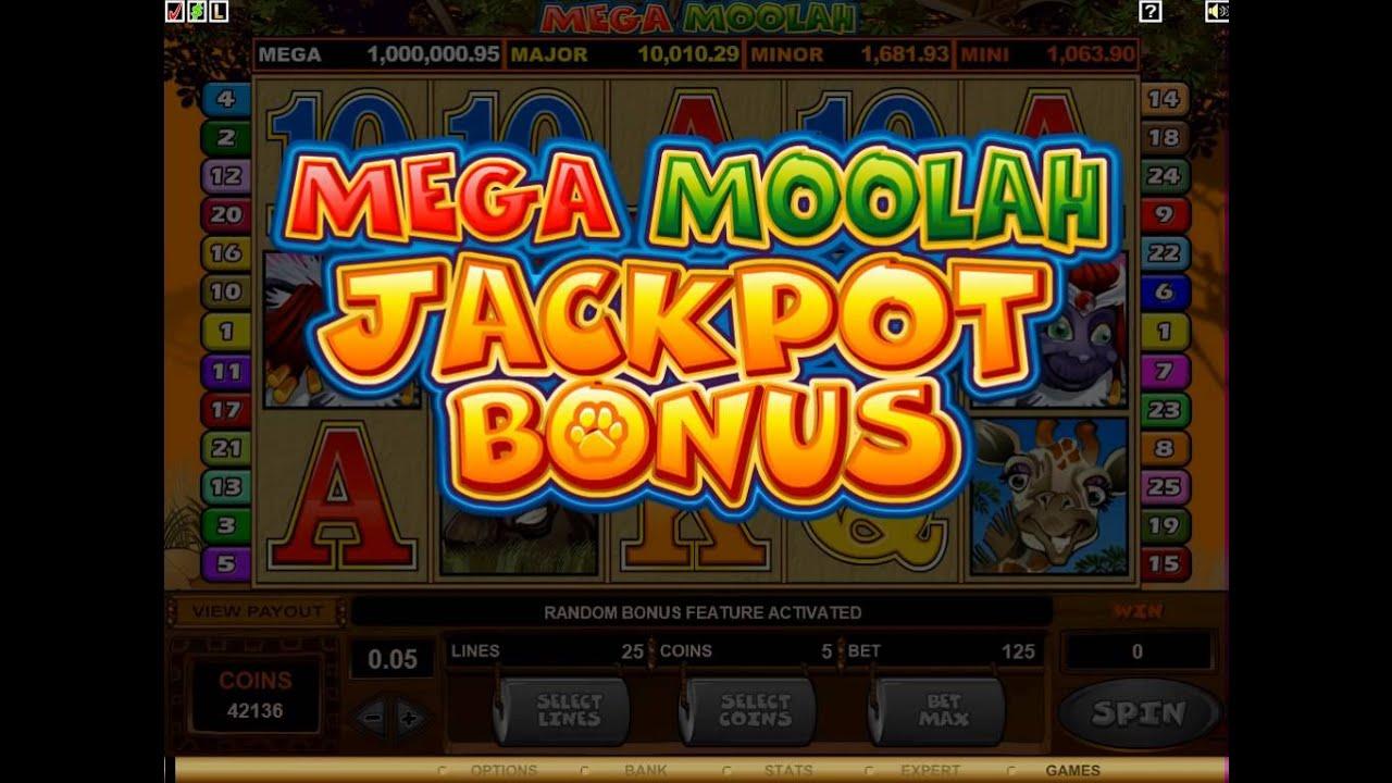 Mega Moolah Slot Game - Watch the Free Spins 1M Jackpot Win! - YouTube