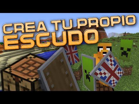 CÓMO HACER, PERSONALIZAR Y USAR EL ESCUDO - Tutorial Minecraft 1.9 Completo