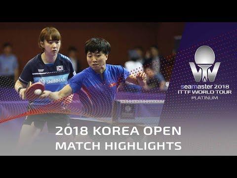 KIM Song I/SUH Hyowon vs KIM Olga/KIM Regina | 2018 Korea Open Highlights (Pre)