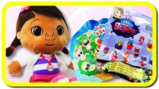 Doc McStuffins und ihr Spielzeug Blind Bags auspacken auf deutsch