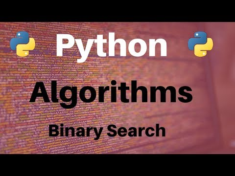 Algorithms in Python: Binary Search