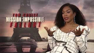 MISSION IMPOSSIBLE FALLOUT - ANGELA BASSETT INTERVIEW