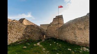 Крепость Бебрисцихе ბებრისციხე, Мцхета, поездка в Грузию на машине май 2018