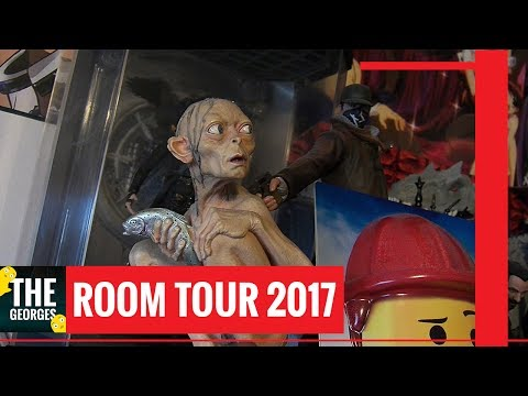 Anime Video Game Comic Book Room Tour 2017 | The Georges