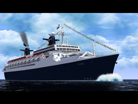 S.S. Norway: The Iconic Blue Lady