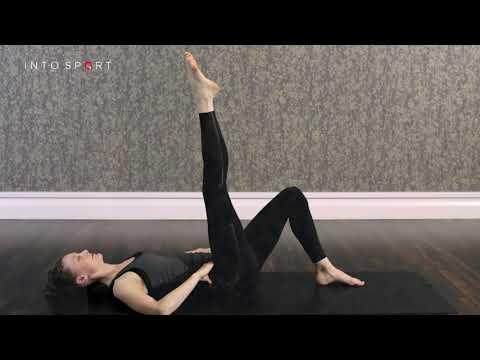 One Leg Circle Exercise Pilates