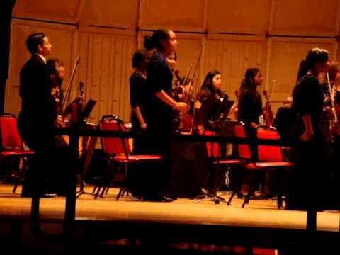 Roosevelt High School, Greenbelt, MD, Symphony Orchestra 2010