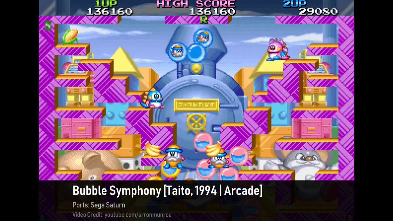 25 Bubble Bobble Styled Games (aka Comical Single Screen Platformers) [Part  I: 1983 - 2002]