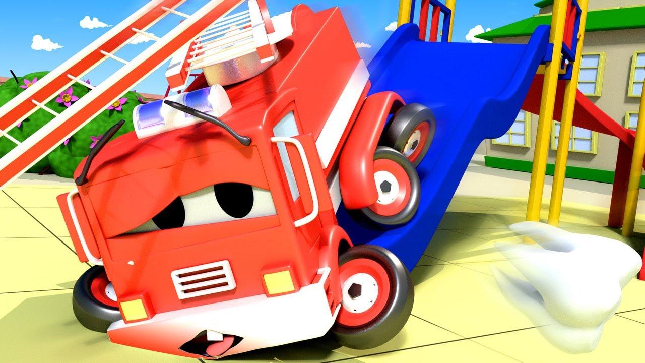Vídeos de ambulância para crianças - O dente do Pequeno Frank - Desenhos Animados para Crianças ? ?