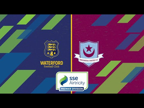 Waterford Drogheda Goals And Highlights