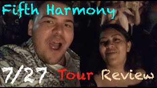 Fifth Harmony: 7/27 Tour - Review
