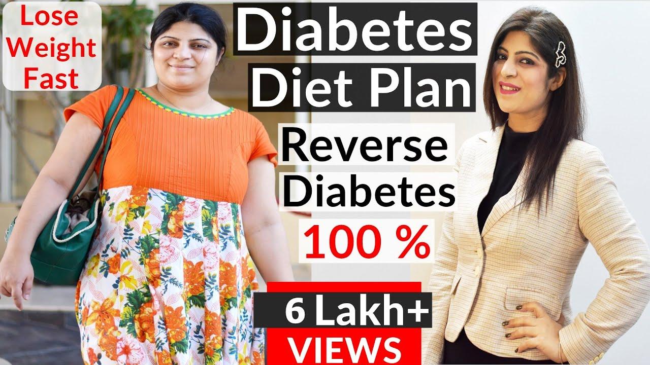 Diabetes Diet Plan To Reverse Diabetes |Lose Weight Fast|Diabetic Diet | Diabetes Control|Indian Food - YouTube