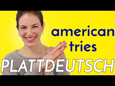 American Tries To Speak PLATTDEUTSCH (LOW GERMAN)