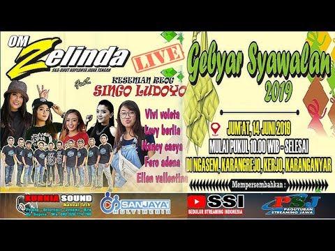 Live ZELINDA Feat Reog SINGO LODOYO //SANJAYA MULTIMEDIA //KURNIA SOUND //Ngasem 15 Juni 2019
