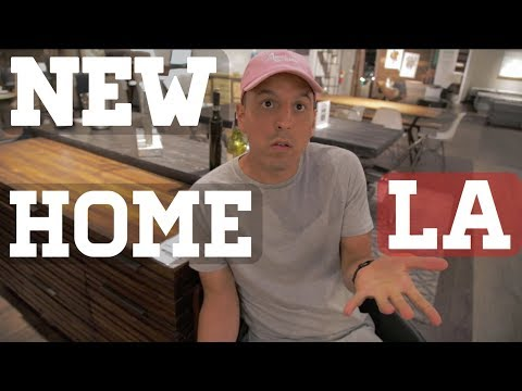 Furniture Shopping In Los Angeles Vlog