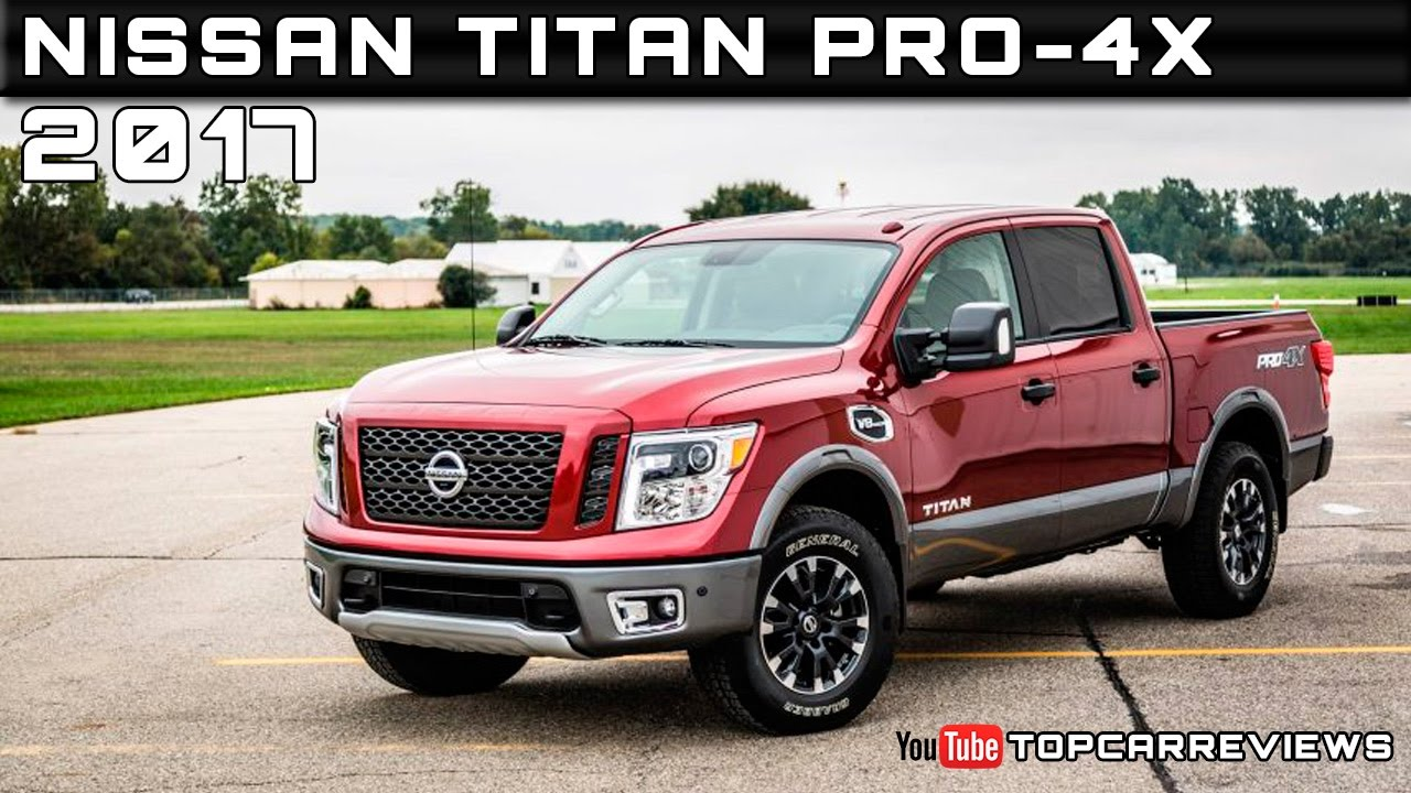 2017 nissan titan pro 4x review rendered price specs release date youtube. Black Bedroom Furniture Sets. Home Design Ideas