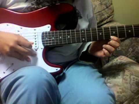 The Only Exception Paramore Guitar Cover Electric Bckgrd Youtube