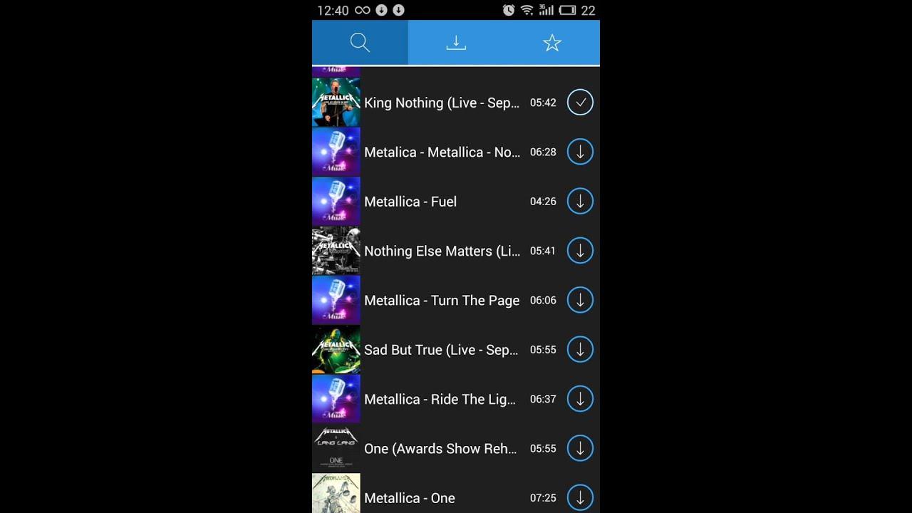 Mp3 Download App Demo - MusicLoader