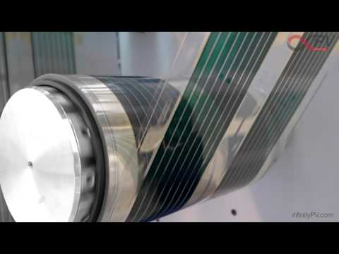 Organic solar cells by infinityPV - fast roll-to-roll (R2R) printing & coating