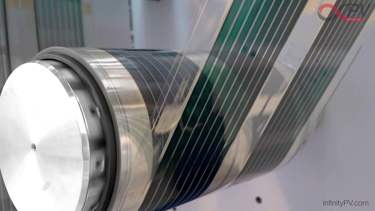 Organic Solar Cells By Infinitypv Fast Roll To Roll R2r
