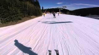 Bulgaria Skiing - Bansko Ski Run 5 and 1