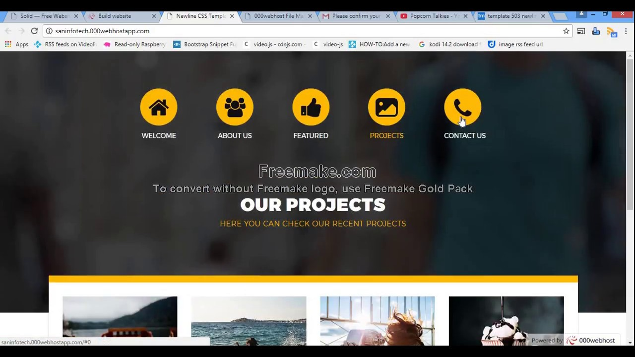 Free php cPanel web hosting - create free website and free domain ...