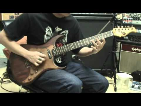 Axl Badwater Sro Guitar Drive Sound Demo By Chatreeo