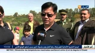 السفير الصيني يؤكد صلابة العلاقات المشتركة ويسعى الى تكثيف الاستثمارات بالجزائر