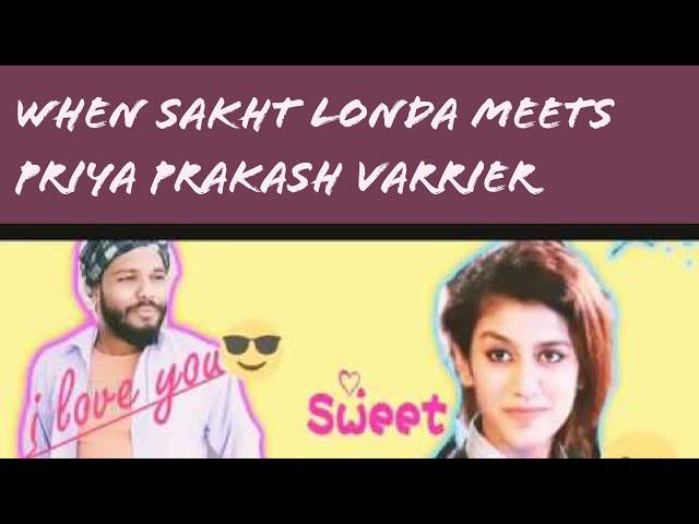 Priya Varrier & Sakht Londa JD Spoof | Priya Prakash Varrier | VALENTINE DAY  | Round2hell | R2h