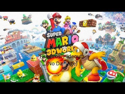 Super Mario 3D World - Fire Bros. Hideout (No Damage)