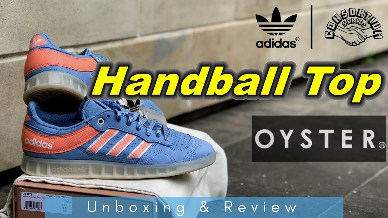 best loved b33ed bd9e8 ADIDAS HANDBALL TOP X OYSTER | Unboxing & Review | EK18VLOG# - YouTube