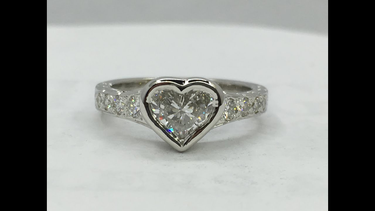 blog introducing shape shaped engagement ritani rings heart diamond