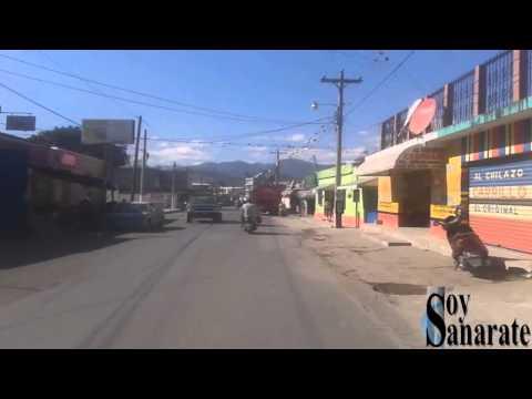Calle principal de Sanarate