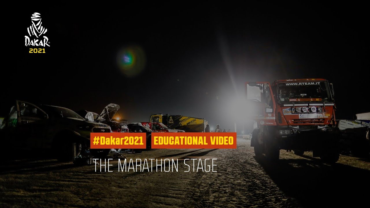 Dakar 2021 - Educational Video - The Marathon Stage