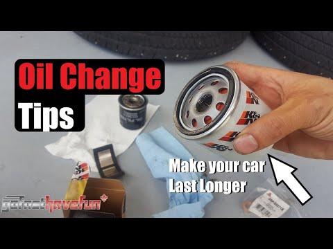Best Oil Change Tips | AnthonyJ350