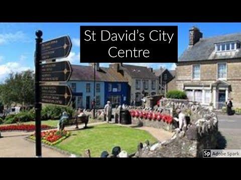 Travel Guide St Davids City Centre Pembrokeshire South Wales UK