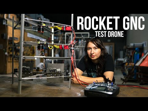 DIY Drone to Test ROCKET GUIDANCE | INSIDE THE ROCKETSHOP: Episode 26