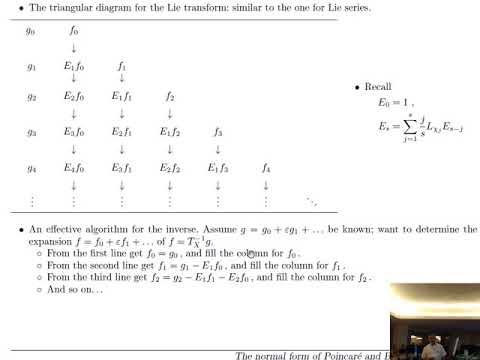 Antonio Giorgilli: Perturbation methods in Celestial Mechanics - 3