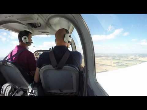 Flight to Enstone 07 08 16