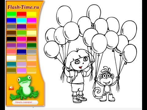 coloring pages for kidz Dora Coloring Pages For Kids   YouTube coloring pages for kidz