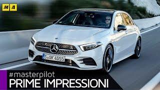 Nuova Mercedes Classe A 2018 | Prova A 180d 1.5 diesel da 116 CV (4k video)